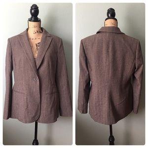 Style & Co. size 12 brown blazer!